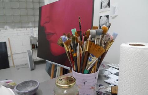 Blanc sur rouge, ça bouge > visite d'atelier