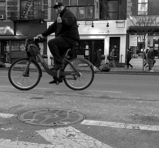 Winter 2015 New York City Biking # 08